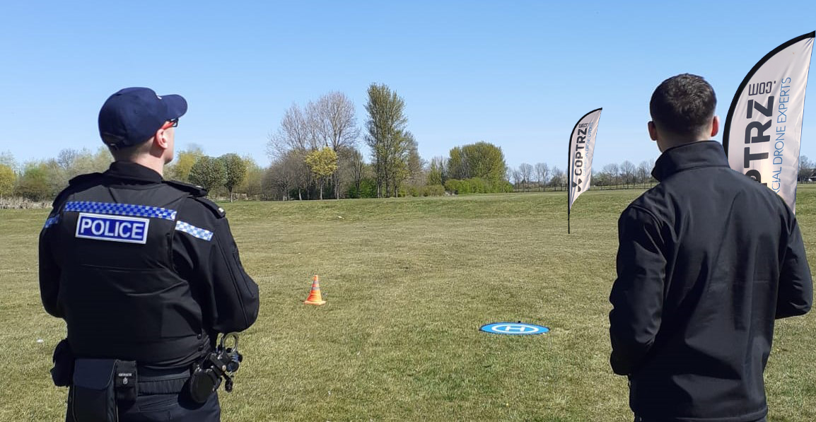 Drone solutions for police - Police GVC training