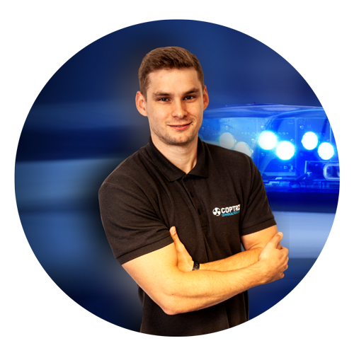 Drone solutions for police - Business development manager - Sam Denniff