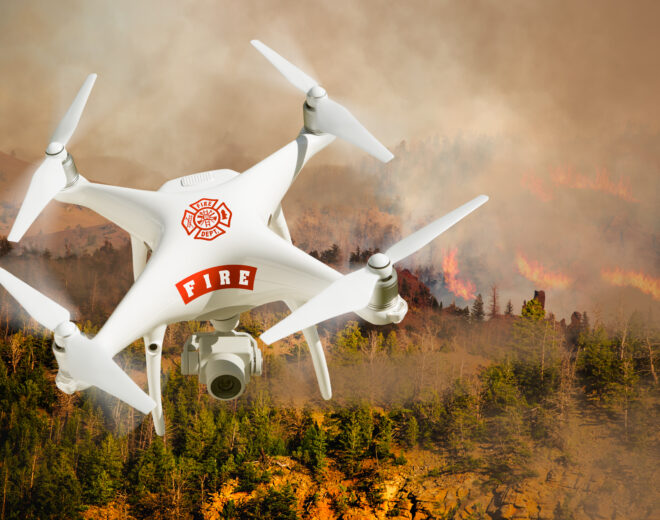 Drones for Fire Service: How does it work?