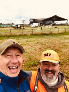 Stu and Tom unmanned air veterans